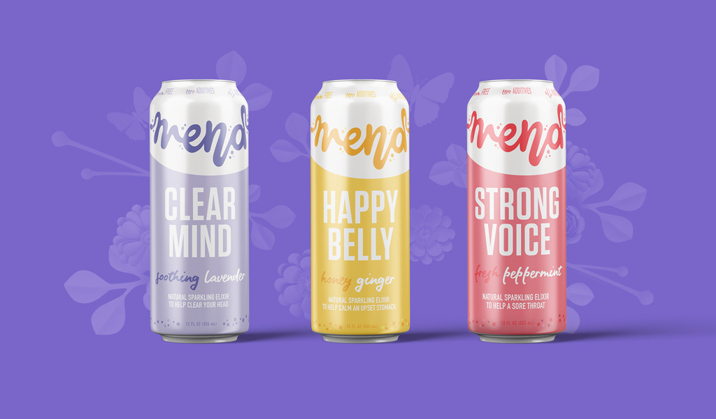 Food & Beverage Product Naming for Mend Seltzer