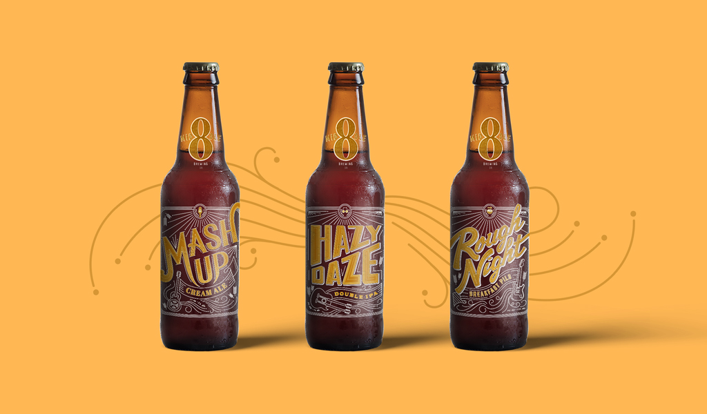Food & Beverage Product Naming for Middle 8 Brewing Company